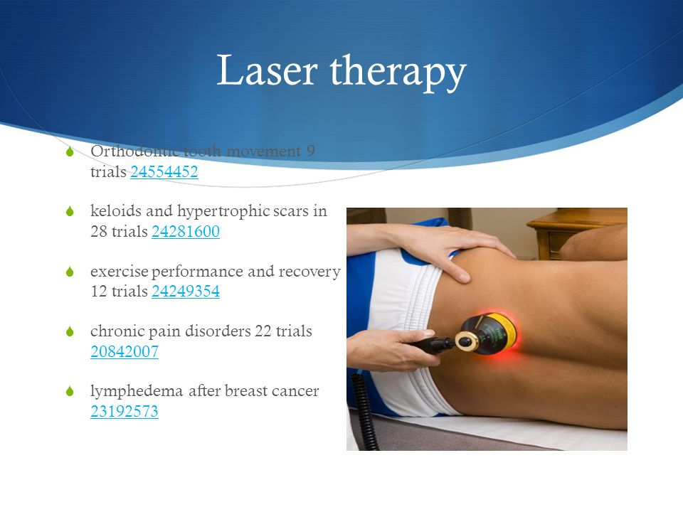 Laser therapy Orthodontic tooth movement 9 trials 24554452