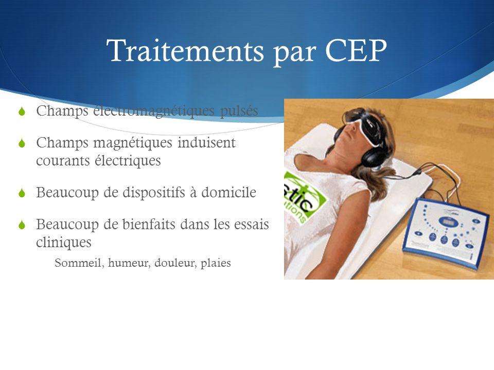 Traitements par CEP Champs électromagnétiques pulsés