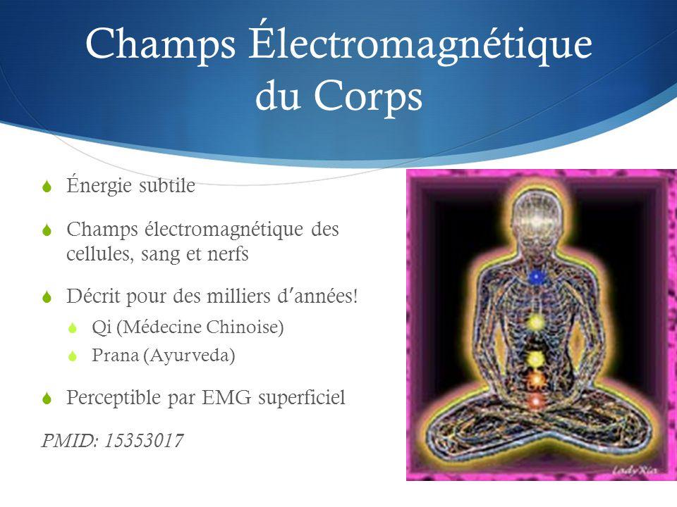 Champs Électromagnétique du Corps