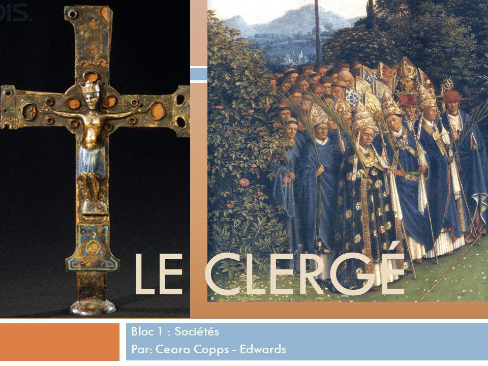 Bloc 1 : Sociétés Par: Ceara Copps - Edwards