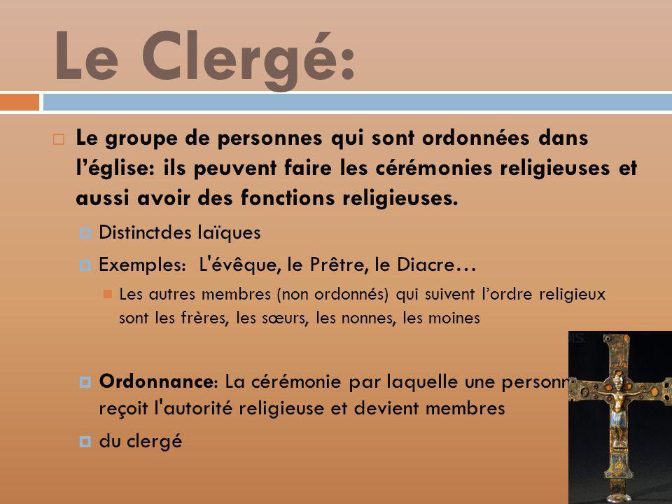 Le Clergé:
