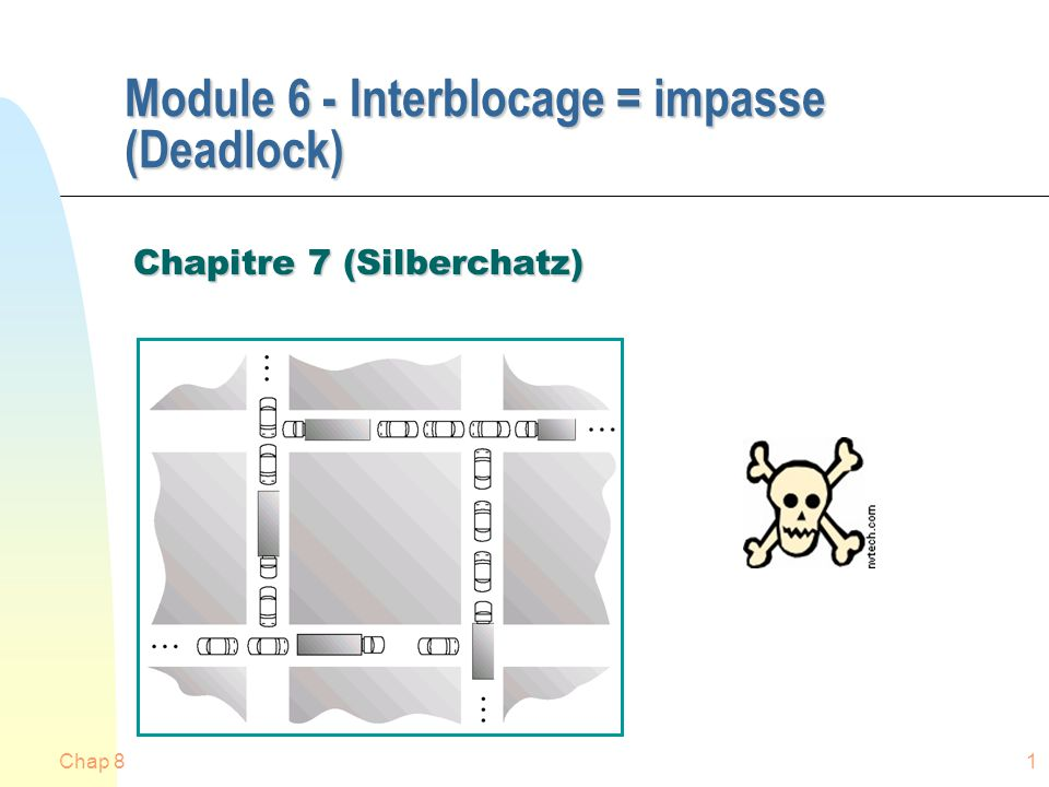 Module 6 - Interblocage = impasse (Deadlock)