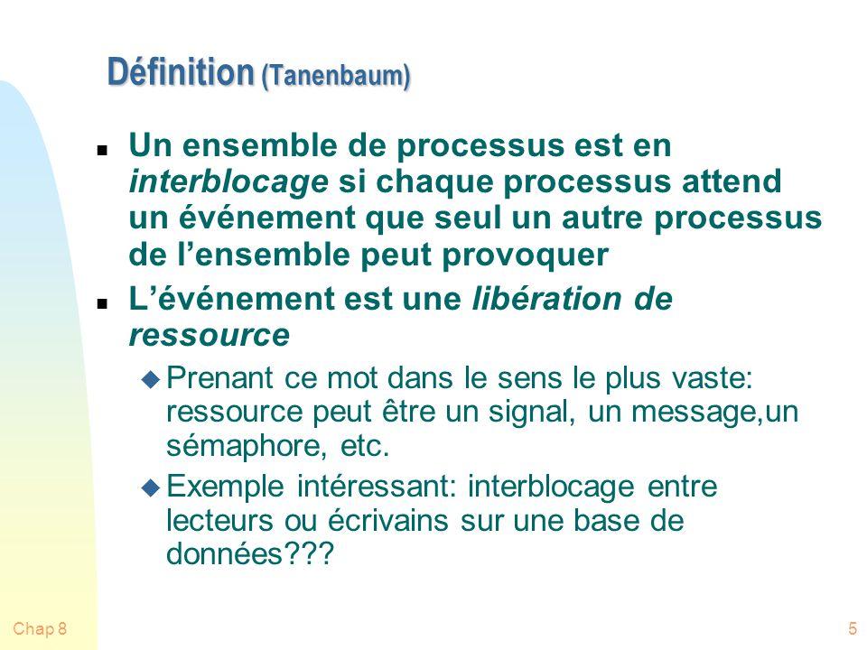Définition (Tanenbaum)
