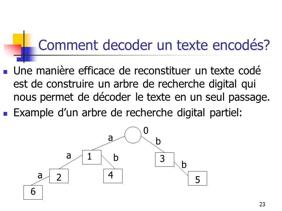 Comment decoder un texte encodés