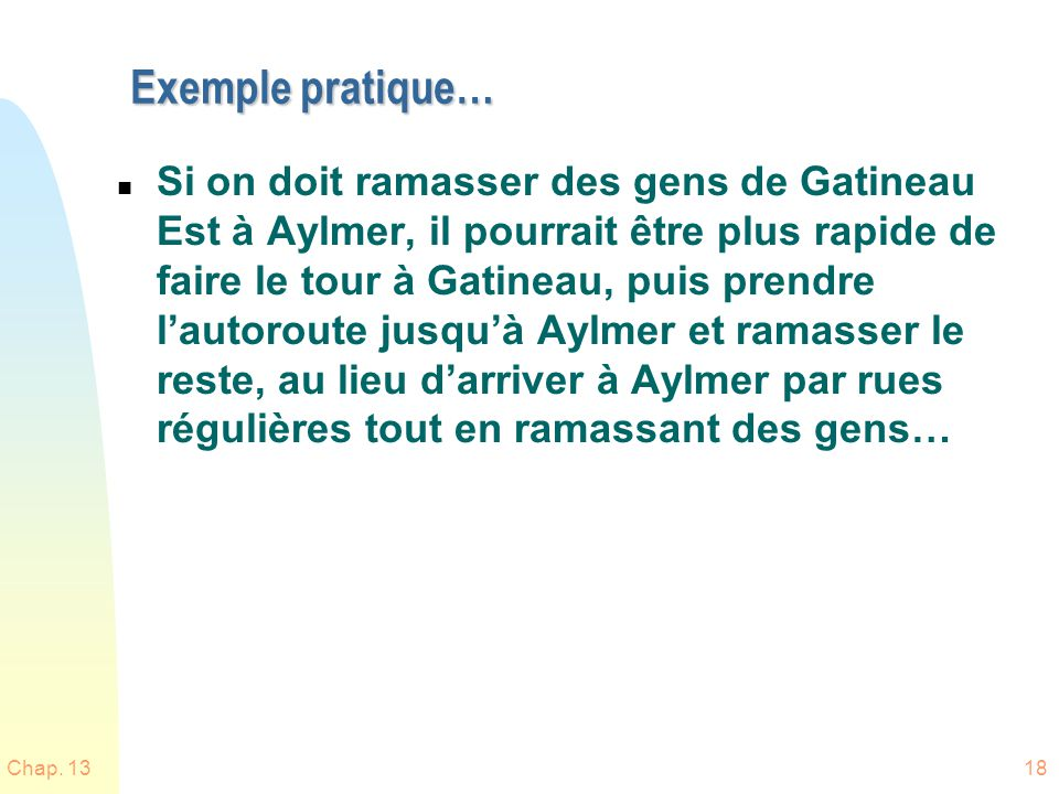 Exemple pratique…