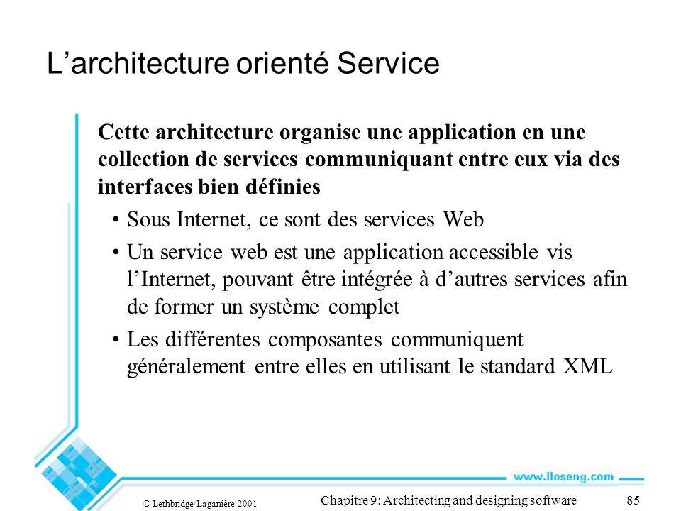 L'architecture orienté Service