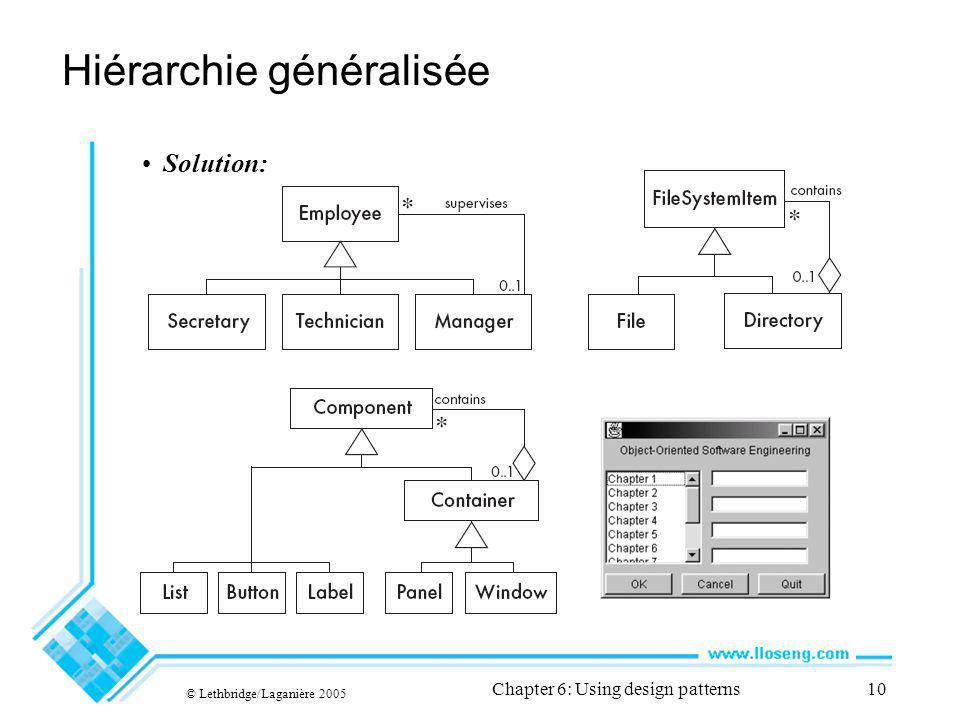 Hiérarchie généralisée