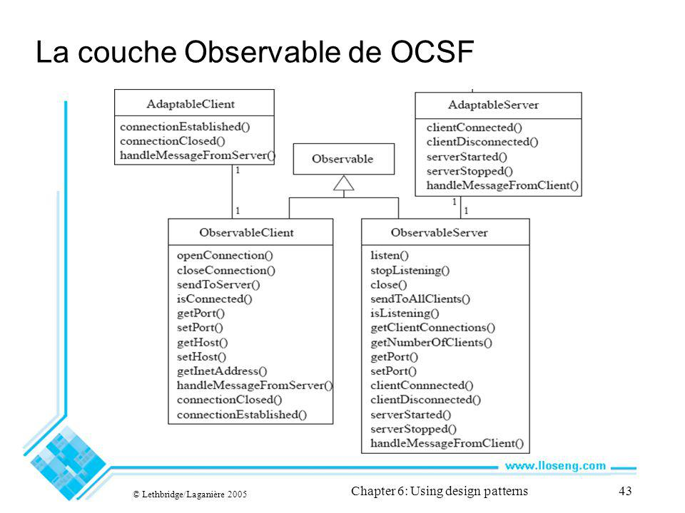 La couche Observable de OCSF