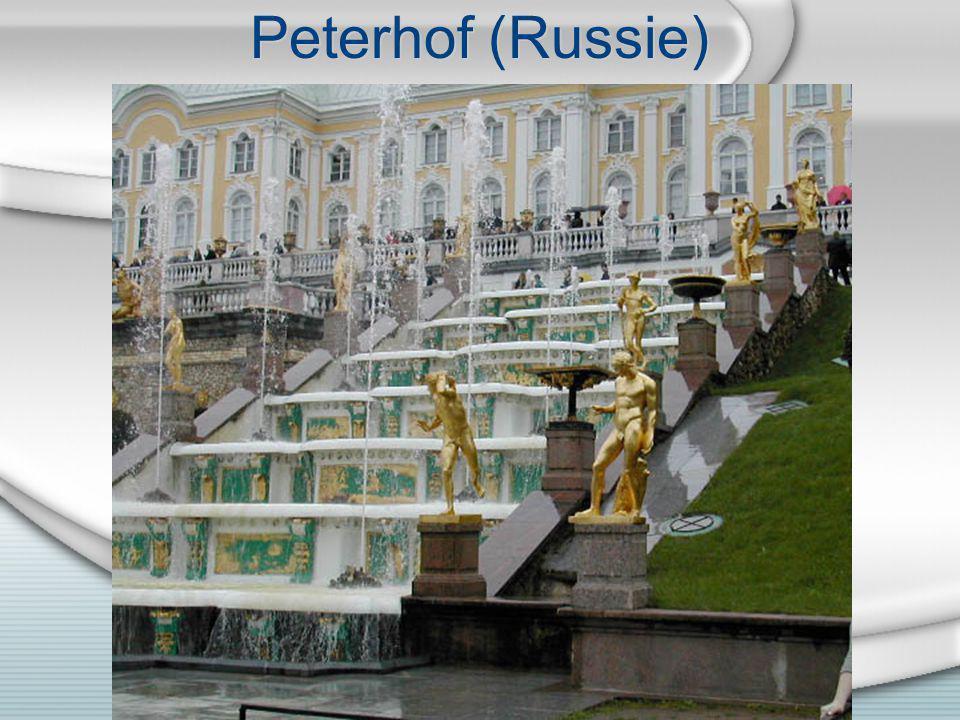 Peterhof (Russie)