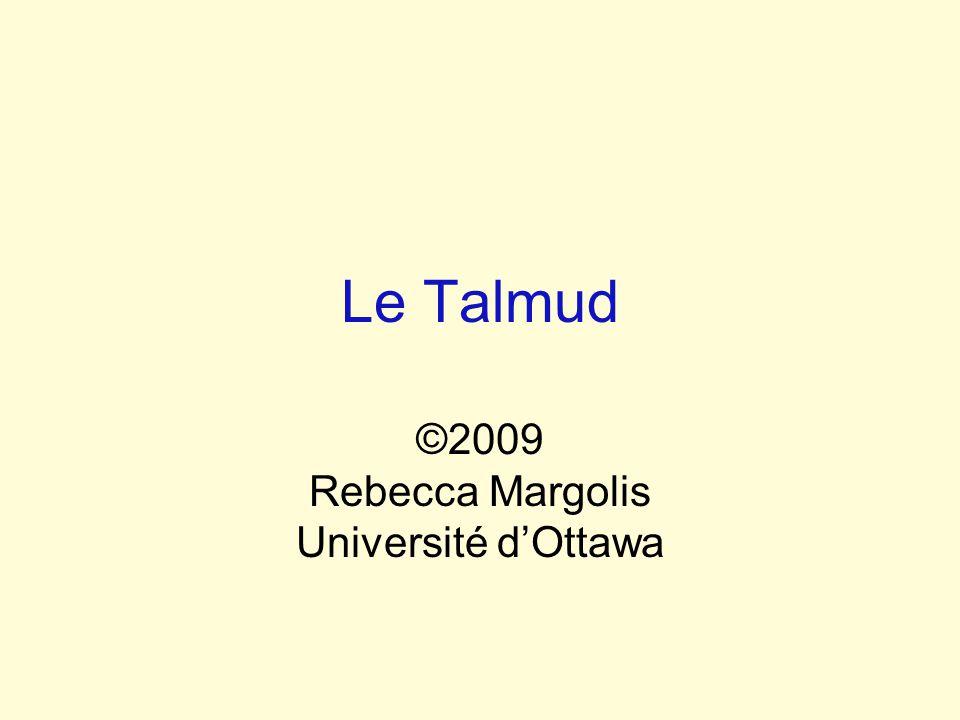 ©2009 Rebecca Margolis Université d'Ottawa