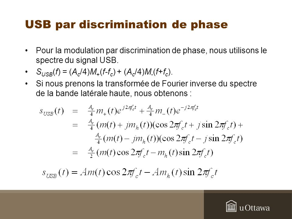 USB par discrimination de phase