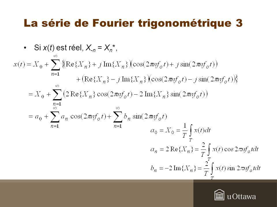 La série de Fourier trigonométrique 3