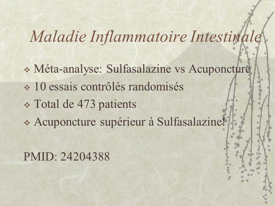 Maladie Inflammatoire Intestinale