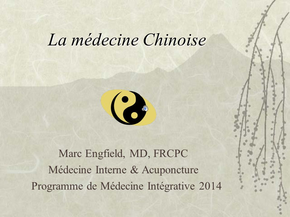 Médecine Interne & Acuponcture