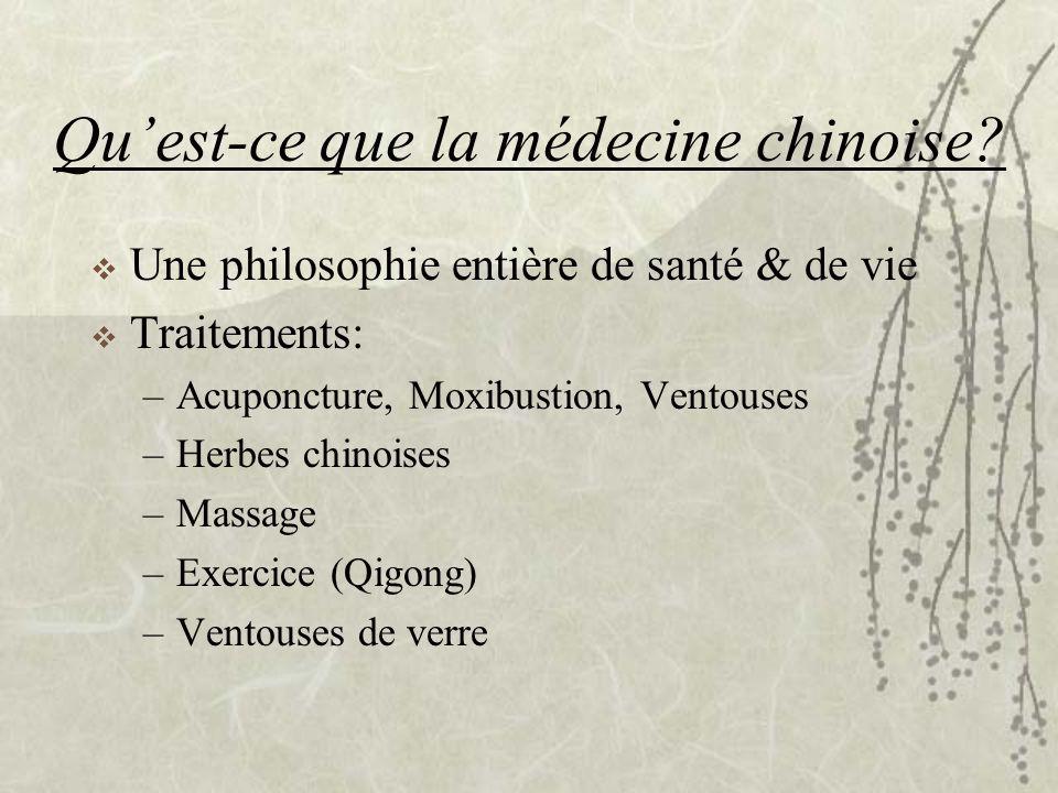 Qu'est-ce que la médecine chinoise