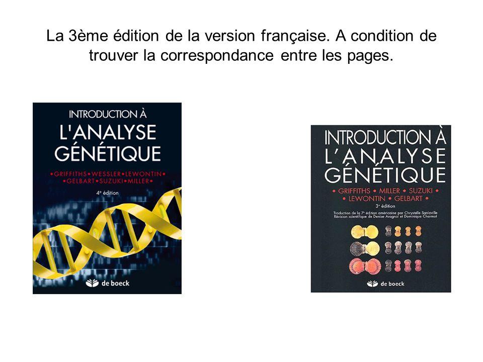 La 3ème édition de la version française