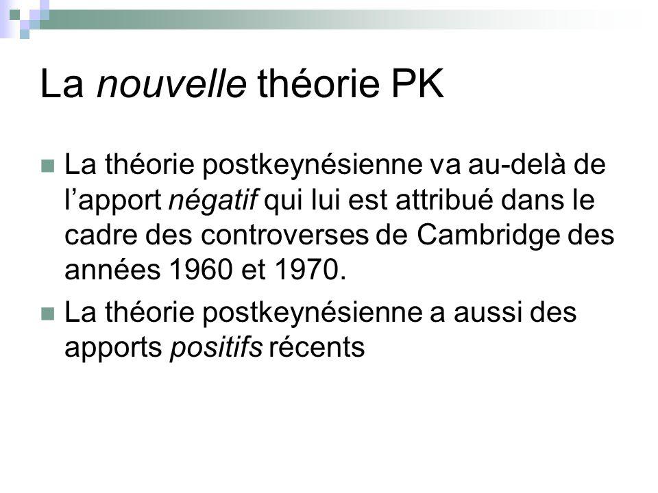 La nouvelle théorie PK