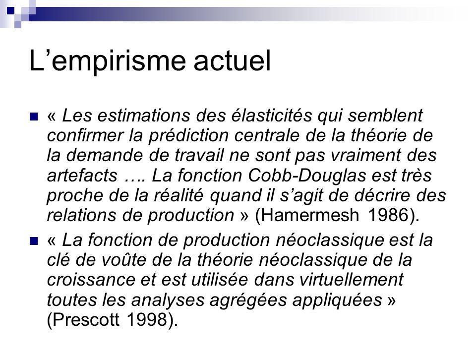 L'empirisme actuel