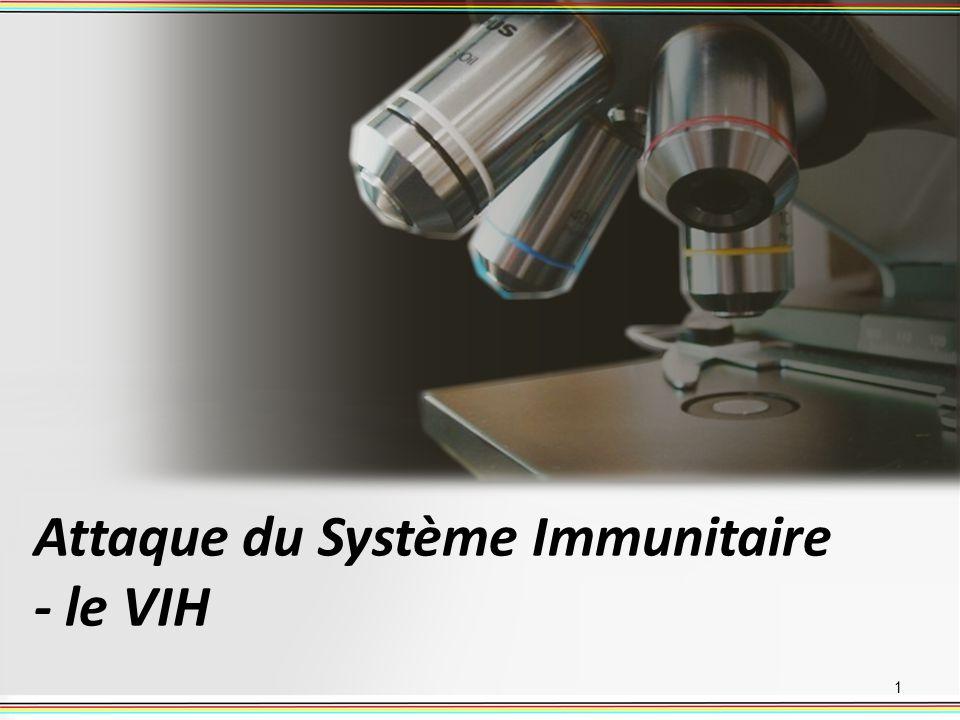 Attaque du Système Immunitaire - le VIH