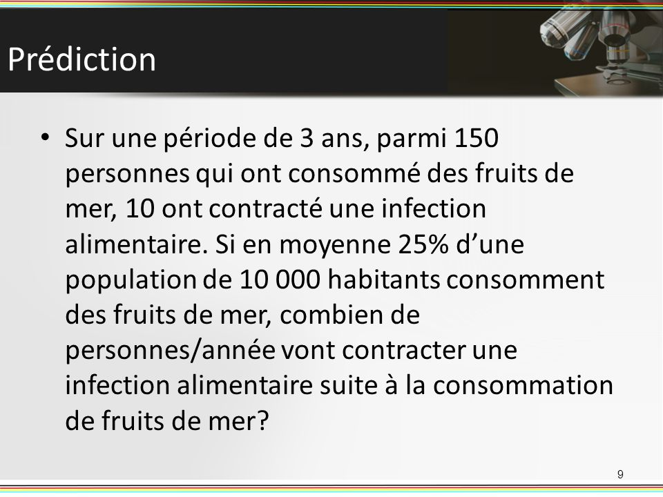 Prédiction