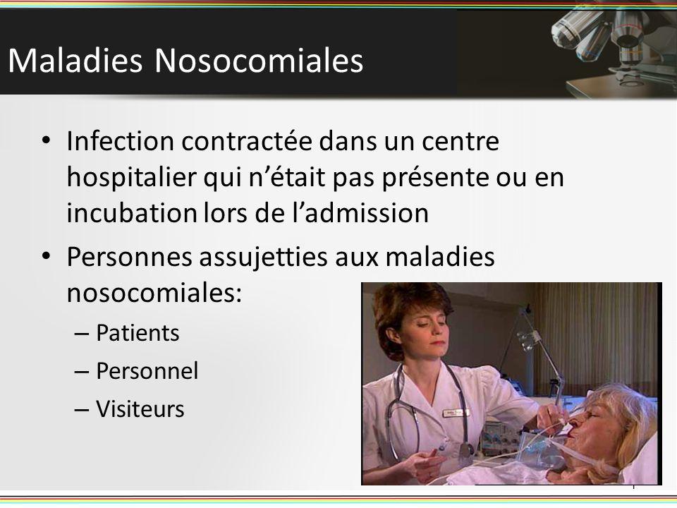 Maladies Nosocomiales