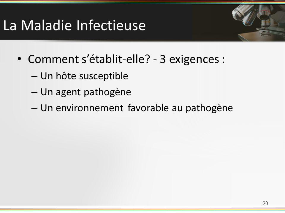 La Maladie Infectieuse