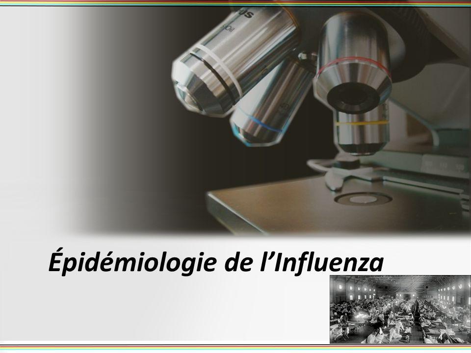 Épidémiologie de l'Influenza