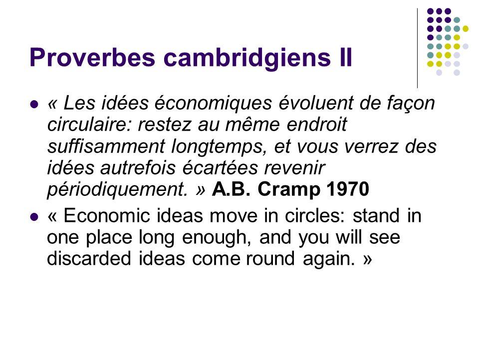 Proverbes cambridgiens II