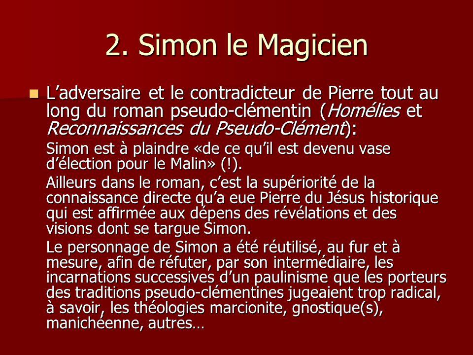 2. Simon le Magicien