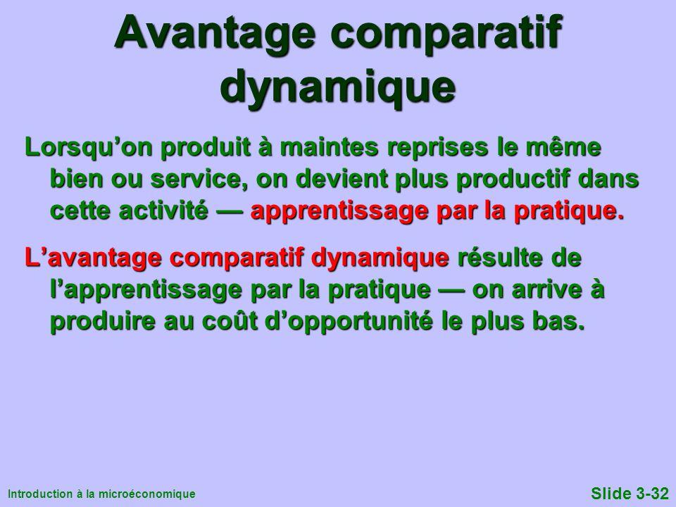 Avantage comparatif dynamique