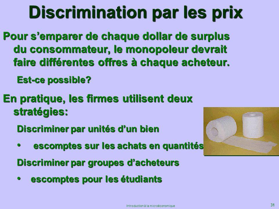 Discrimination par les prix