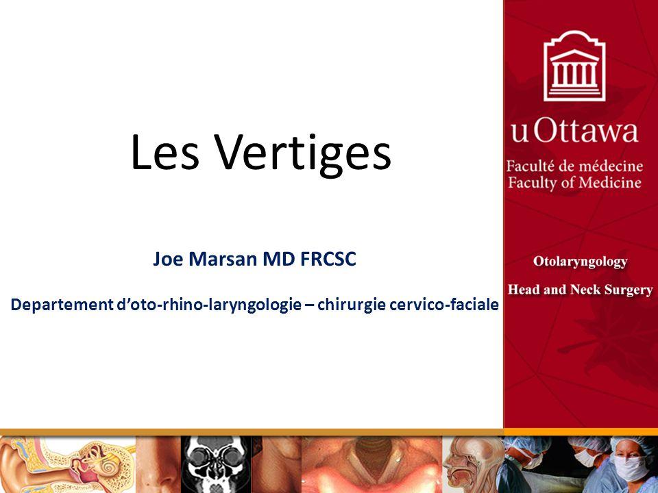 Departement d'oto-rhino-laryngologie – chirurgie cervico-faciale