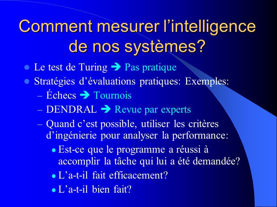 Comment mesurer l'intelligence de nos systèmes