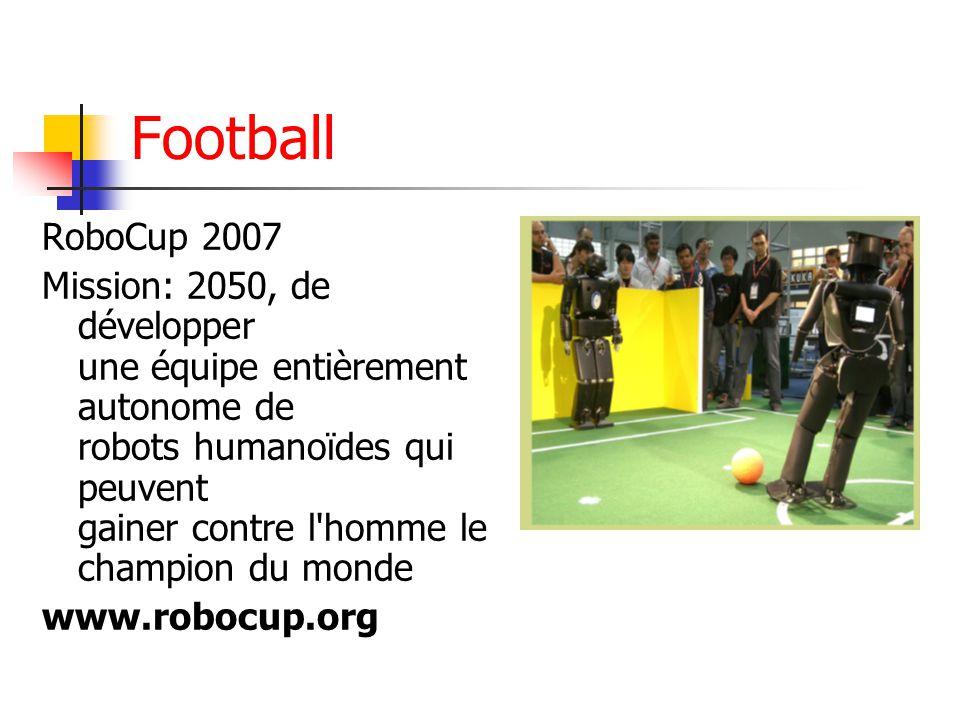 Football RoboCup 2007.