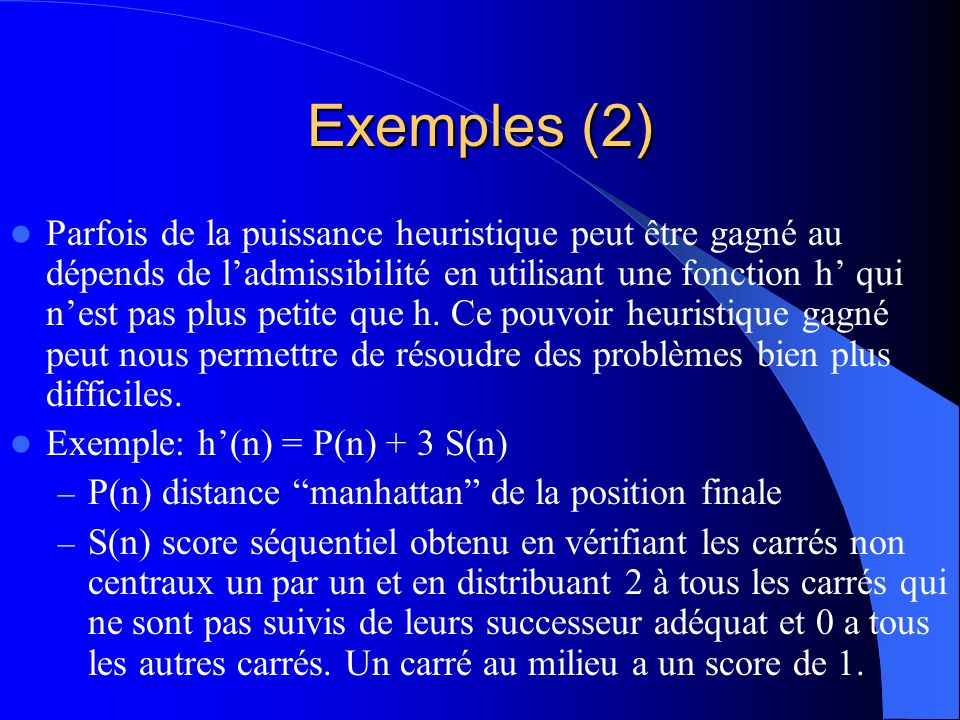 Exemples (2)