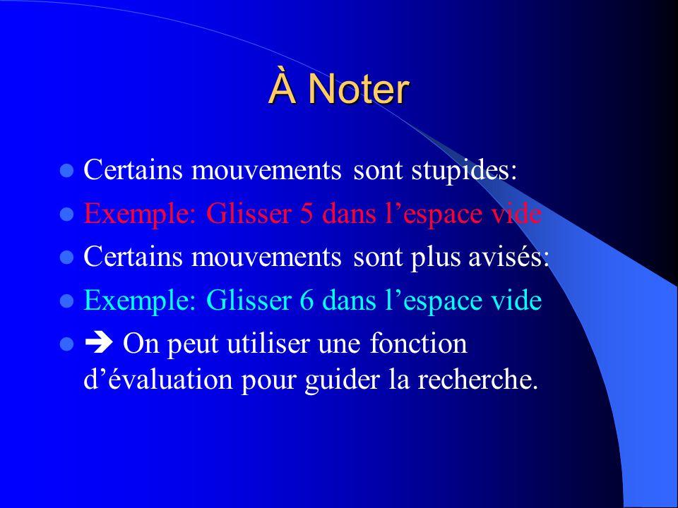 À Noter Certains mouvements sont stupides: