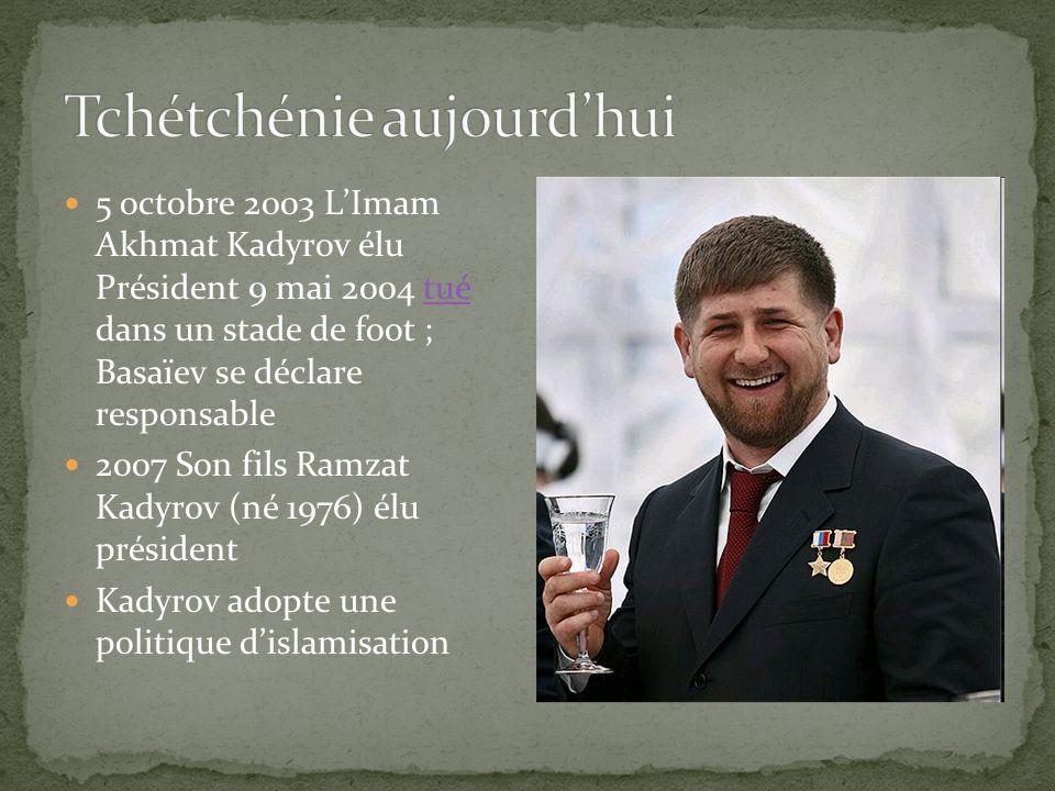 Tchétchénie aujourd'hui