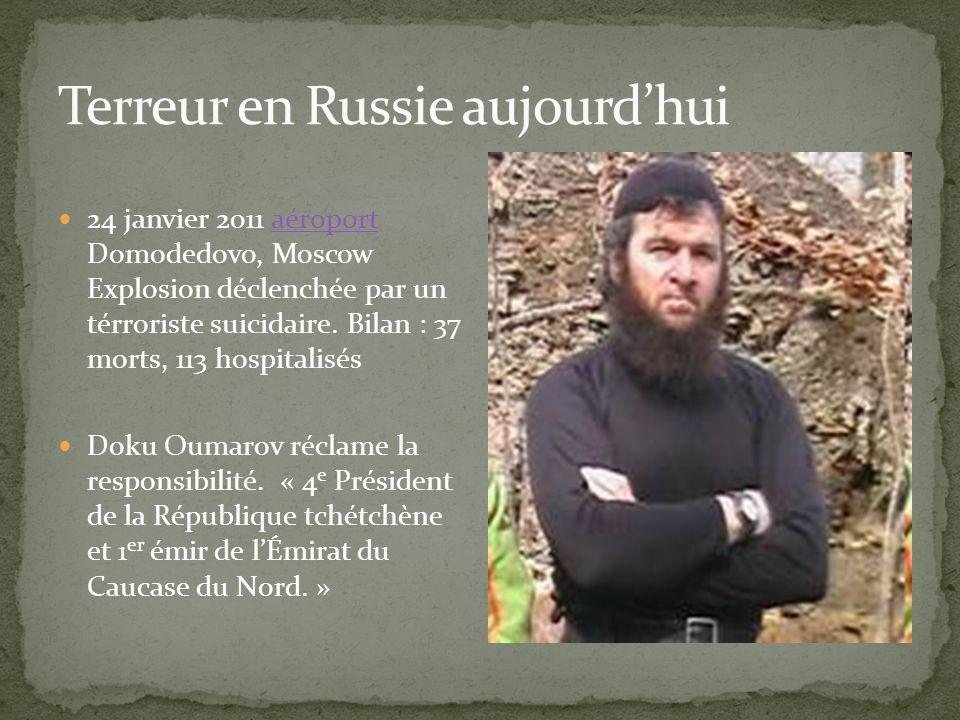 Terreur en Russie aujourd'hui