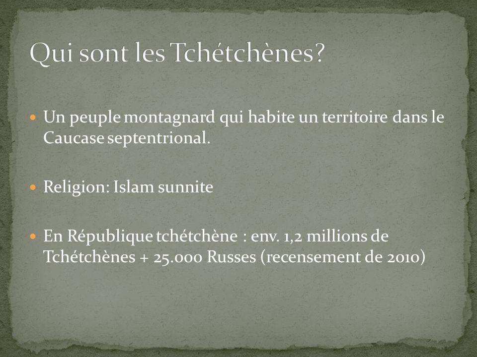 Qui sont les Tchétchènes