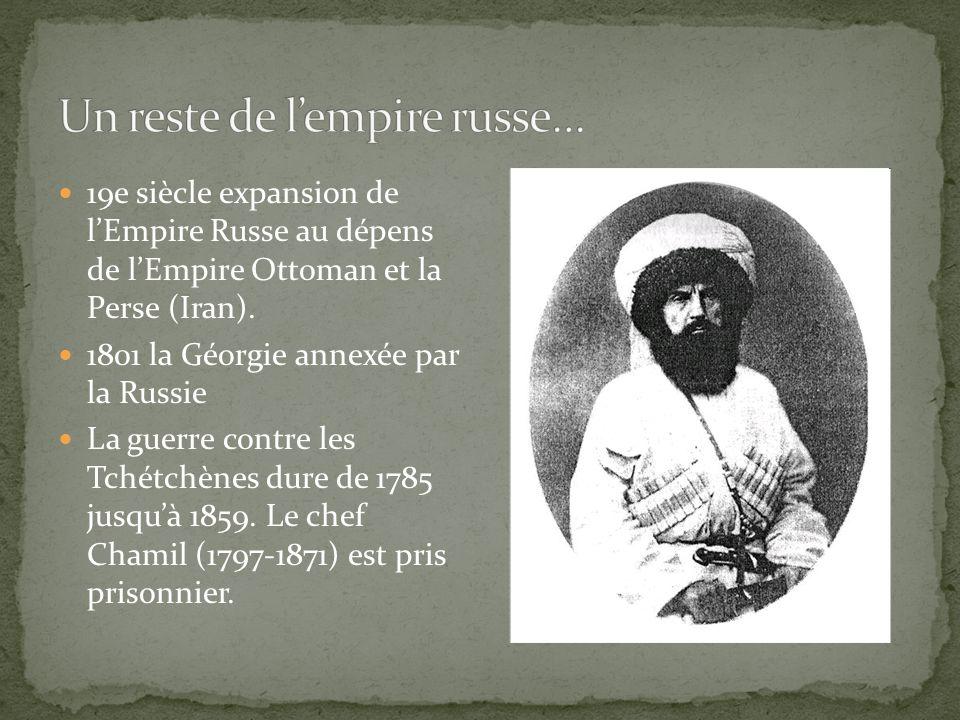 Un reste de l'empire russe…