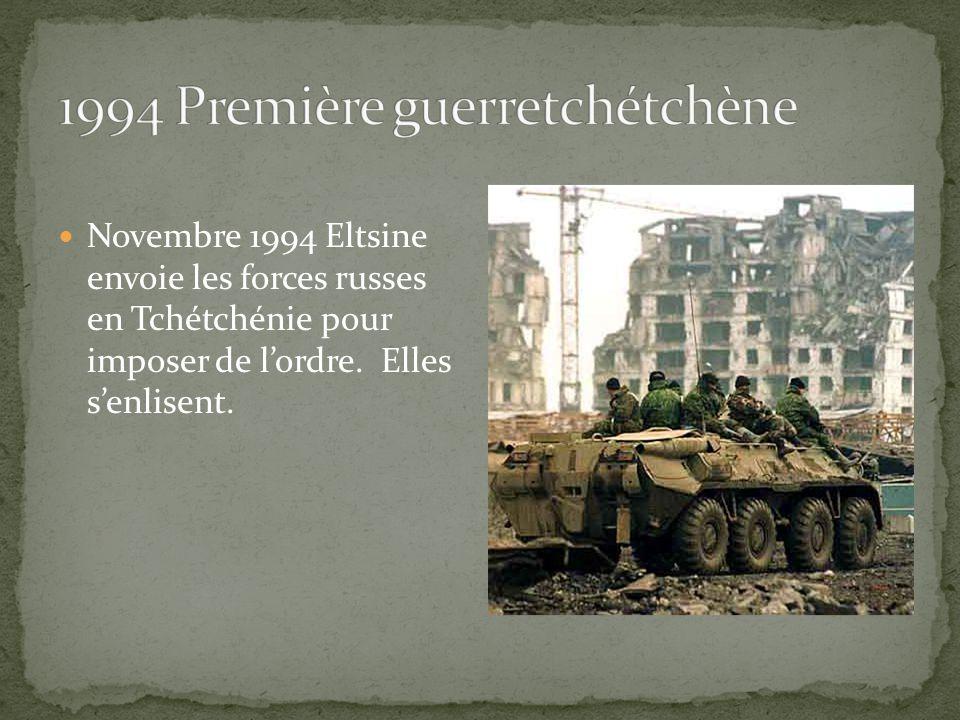 1994 Première guerretchétchène