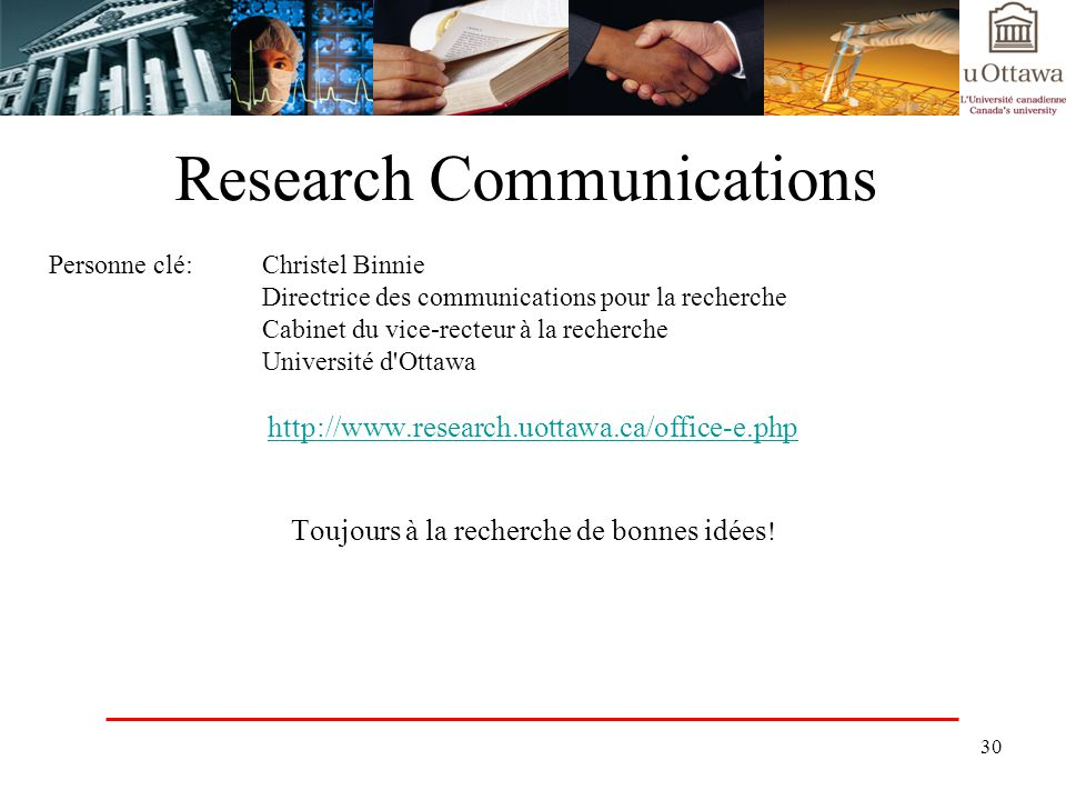 Research Communications