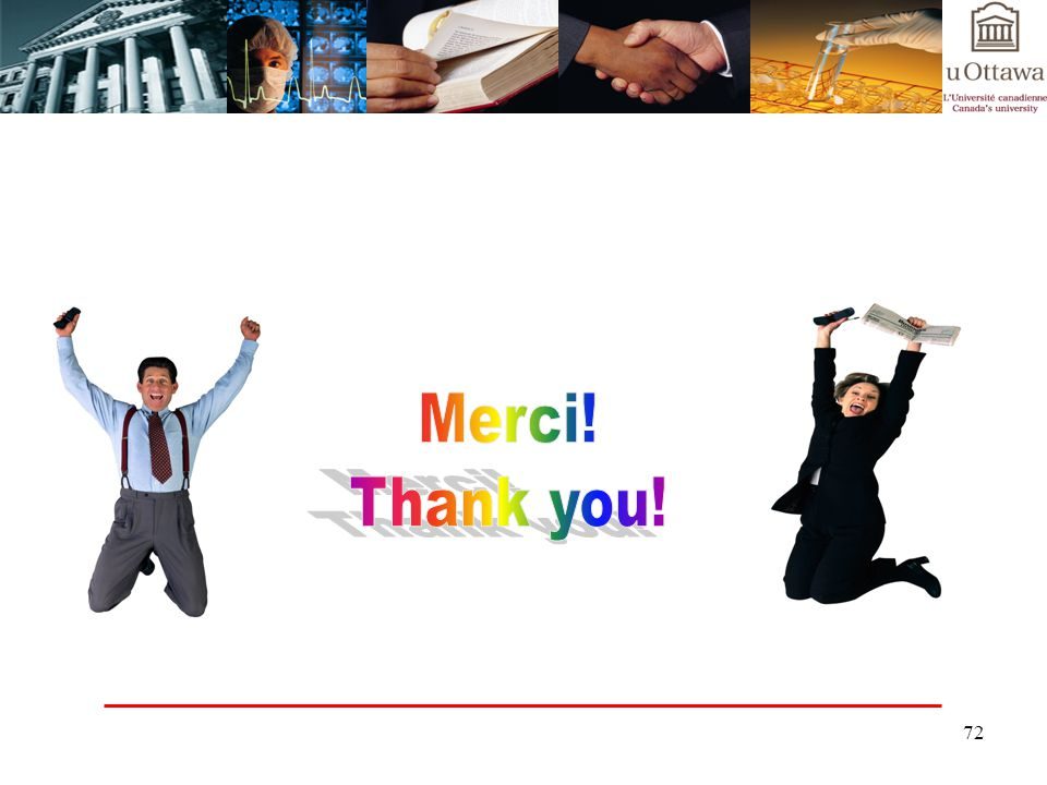 Merci! Thank you!