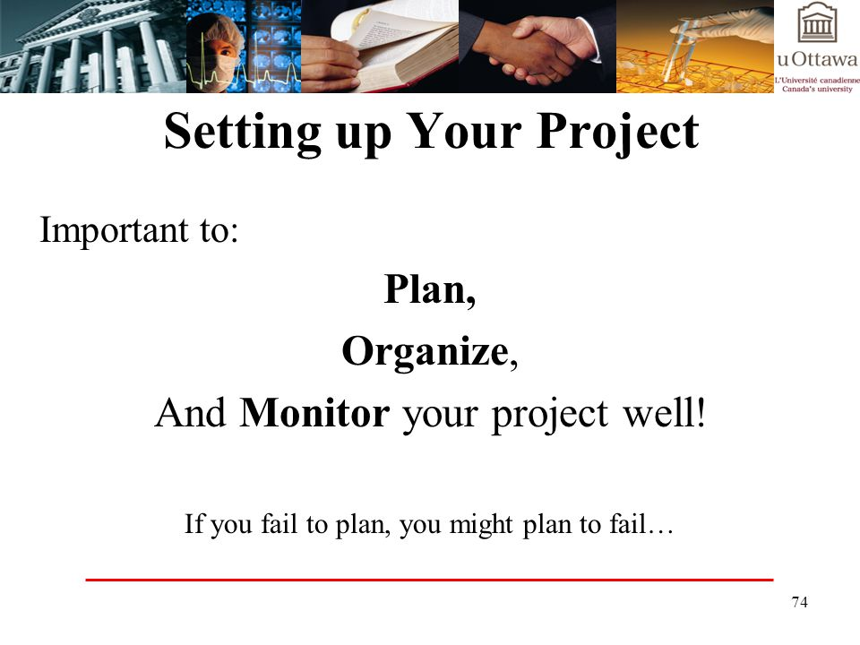 Setting up Your Project