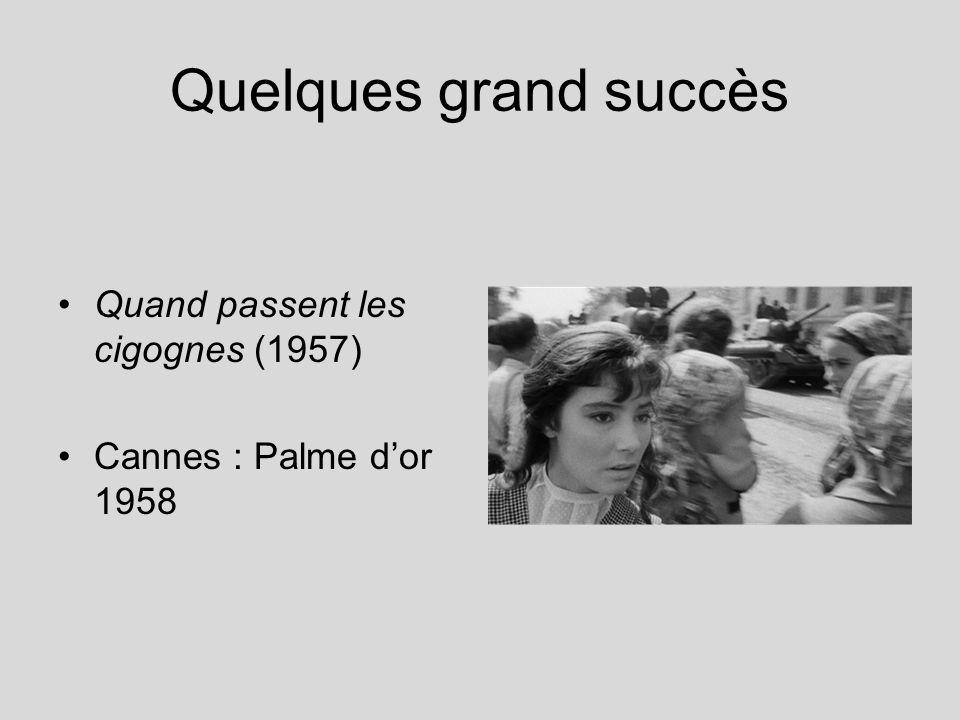 Quelques grand succès Quand passent les cigognes (1957)