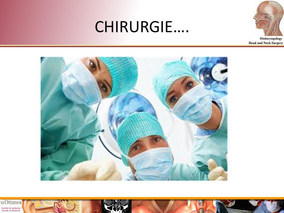 CHIRURGIE….