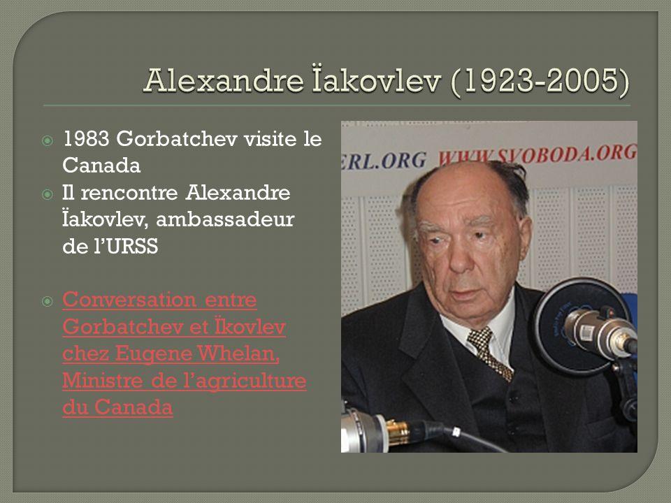Alexandre Ïakovlev (1923-2005)