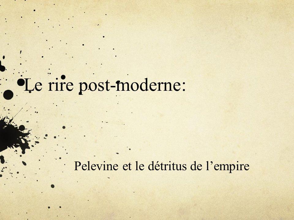 Pelevine et le détritus de l'empire