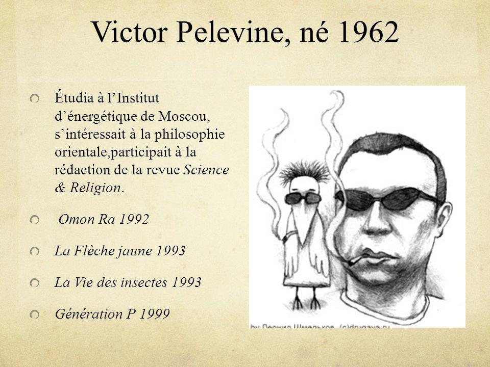 Victor Pelevine, né 1962