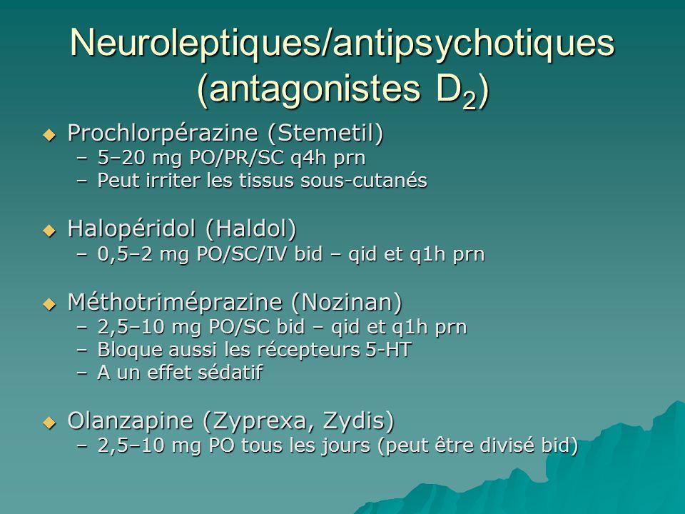 Neuroleptiques/antipsychotiques (antagonistes D2)